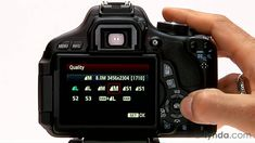 Canon Rebel tutorial: Image format and size options | lynda.com
