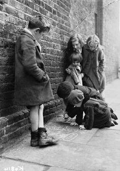 Foto de D.H. Calcraft - Londres / 1941.