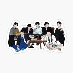 Preppy Stickers, Pop Stickers, Printable Stickers, Foto Bts, Bts Photo, Photo Shoot, Korean Stickers, Bts Aesthetic Pictures, Bts Drawings