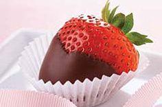 #kraftrecipes Chocolate-Berry Treats