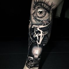 black and grey tattoos sleeve men ideas - black and grey tattoos ideas for men Hand Tattoos, Skull Sleeve Tattoos, Forearm Sleeve Tattoos, Best Sleeve Tattoos, Tattoo Sleeve Designs, Tattoo Designs Men, Arabic Tattoos, Rauch Tattoo, Widder Tattoos