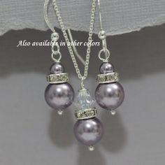 Hey, I found this really awesome Etsy listing at https://www.etsy.com/listing/171341268/light-purple-jewelry-set-swarovski-mauve