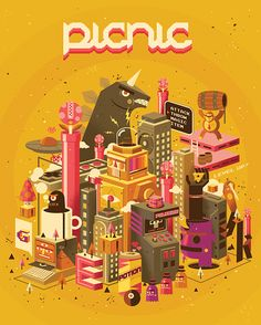 Illustracional 2013 - COVER on Behance