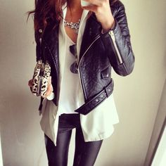 Leather + Layers