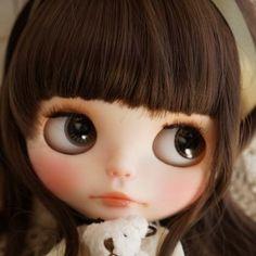 *** Custom Blythe *** airy ***  Buy her here:   #blythe #blythedolls #kawaii #cute #rinkya #japan #collectibles #neoblythe #customblythe