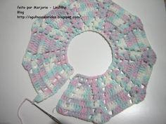 Agulhas Coloridas Croche e Trico: PAP do Casaquinho de bebe croche-7
