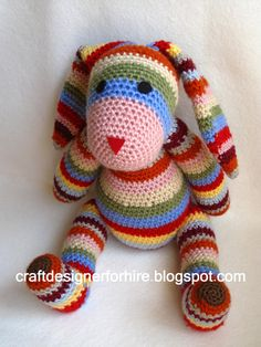 Free Crochet Rabbit Project from Craft Designer