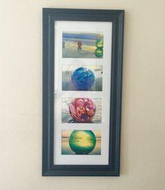 Vertical Framed Print Glass Floats Collection Oregon Coast Art Matted Original…