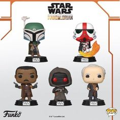 Funko POP ended the by announcing the release of an entire array of figurines of characters from The Mandalorian. Here are the details: Disney Star Wars, Disney Disney, Lego Mandalorian, Series Da Disney, Starwars, Deadpool, Cara Dune, Naruto, Star Wars Merchandise