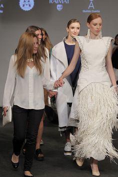 Diseñadora Andrea Fernandez  - Desfile DNA Fashion Show 2015