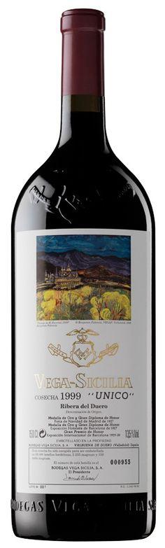 Vega Sicilia Único Magnum 1991 desde $1,144.19 (850,00€) ¡Sólo queda 1 botella!