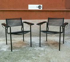 Coppia di poltrone Alias Spaghetti. Misure 57x70x70h #magazzino76 #viapadova #Milano #nolo #viapadova76 #M76 #modernariato #vintage #industrialdesign #industrial #industriale #furnituredesign #furniture #mobili #modernfurniture #antik #antiquariato  #armchair #chair #sofa #poltrone #divani #tavoli #table