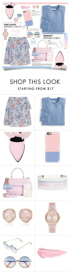 """""""Summer Sweetness"""" by southindianmakeup1990 ❤ liked on Polyvore featuring Miss Selfridge, Blair, Mother of Pearl, Casetify, In Awe of You, Suzywan DELUXE, Monica Vinader, Michael Kors, Sunday Somewhere and By Terry"""