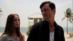"""Burn Notice 5x04 """"No Good Deed"""" - Michael Westen (Jeffrey Donovan) & Eve (Aviva Farber)"""