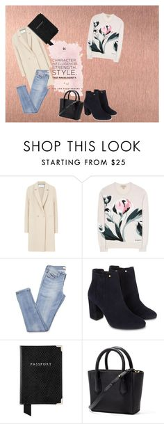 """Untitled #28"" by darklady03 ❤ liked on Polyvore featuring Harris Wharf London, Burberry, Monsoon and Aspinal of London"