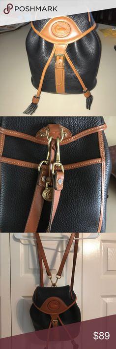 Vintage Dooney & Burke Backpack Vintage Dooney & Burke all weather backpack. In perfect condition. Dooney & Bourke Bags Backpacks