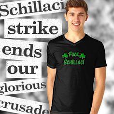 'F*** Schillaci' T-Shirt by Irish-Nostalgia Artist Life, Tshirt Colors, Insta Like, V Neck T Shirt, Ireland, Irish, Nostalgia, Shirt Designs, Gift Ideas