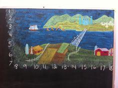 1st grade, Waldorf classroom, Math Story