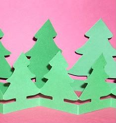 Tree Paper Doll Chain And Other Paper Crafts For Christmas Parties