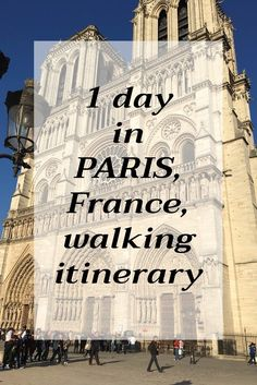Places to Visit in Paris in One Day - Irma Naan World