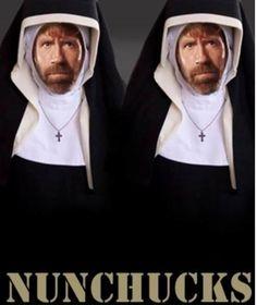 NunChucks #chuck #norris