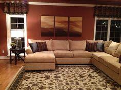 Comfy n Cozy family room