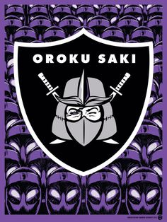 "Aaron Sechrist ""Oroku Saki: Shredication"" Print"