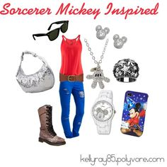 Sorcerer Mickey Inspired, created by kellyray85