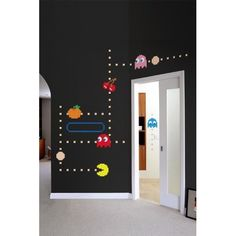 Pac-Man Ghost Wall Decals: Baby
