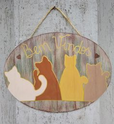 Love Pet, I Love Cats, Charger Plates, Painting On Wood, Folk, Doodles, Pets, Home Decor, Cat Crafts