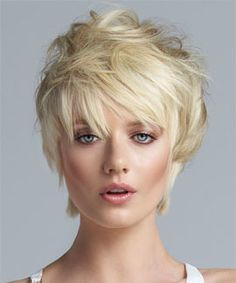Short Top Extensions by LUXHAIR - already have short hair, want to add some length to the top for a short rebellious look. Quickly transform your look with this hair addition