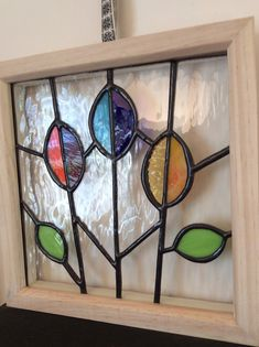 Stained Glass Framed Flower Panel – Home Decoration Stained Glass Frames, Stained Glass Light, Stained Glass Flowers, Stained Glass Designs, Stained Glass Projects, Stained Glass Patterns, Stained Glass Windows, Window Glass, Glass Art Pictures