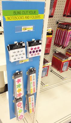 me & my BIG ideas Binder Stickers & gems (rhinestones) at Target.  $1.99 back to school section
