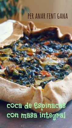 """Una receta de las clásicas de nuestra cocina casera menorquina y tradicional   """"las coques """"hechas con masa al vino o sencillamente sin él,..."""