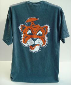 Vintage Old Aubie Pocket Tee Auburn (SKU WOMEN'S TEBD1031027 11758082)