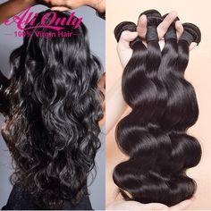 "Cheap Brazilian Virgin Hair 4 Bundles Brazilian Body Wave 6""-28"" Remy Human Hair Extension 7a Unprocessed Virgin Hair Style"