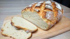 Kulinarne przygody: Domowy chleb z chrupiącą skórką na maślance Breakfast, Brot, Morning Coffee