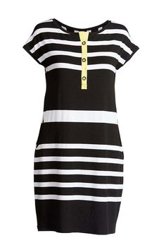 Striped Sack Dress by ConquistaFashion on Etsy