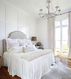 Bedroom Bedding Ideas. The bedding in this bedroom is from LD Linens & Decor in Baton Rouge, LA. #Bedroom #Bedding #BedroomBeddding