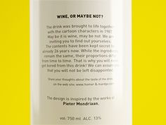 Wine, or maybe not? on Behance