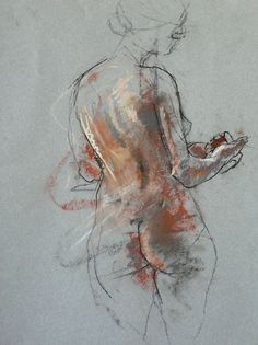By Caroline Deane, Spirit and substance, pastel Life Drawing, Drawing Sketches, Art Drawings, Figure Drawings, Figure Painting, Painting & Drawing, Pastel Drawing, Figure Sketching, Art For Art Sake