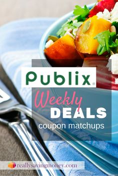 Get the latest deals and grocery matchups from Publix. Save money with these Publix coupons | weekly deals | Publix deals | money saving discounts | sales