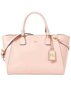 ca2f2d061ac5 Lauren Ralph Lauren Newbury Stefanie Medium Satchel Handbags   Accessories  - Macy s