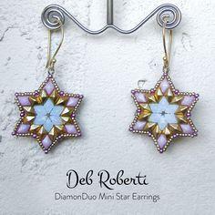 free pattern using the new DiamonDuo Mini beads!