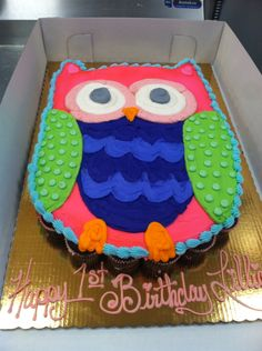 Pin by Hester on size of owl cake Pinterest Cake Birthdays and
