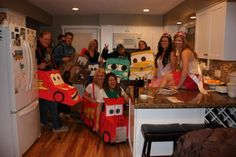 Cars Halloween group costume