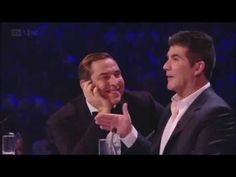 "Simon Cowell and David Walliams ""BROMANCE"" - YouTube Britain's Got Talent, Talent Show, Stand Up Comedians, Simon Cowell, Damon, I Laughed, Beautiful Men, The Past, Tv Shows"
