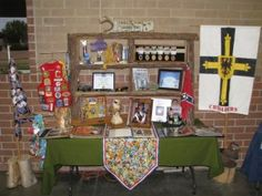 Eagle Scout Court of Honor Memory table - some really cute ideas