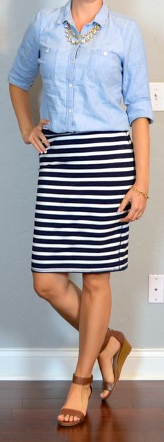 Outfit Posts: Search results for striped pencil skirt old navy jersey12/19/14
