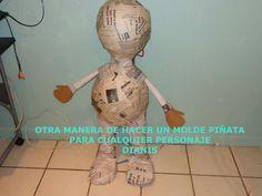 OTRA MANERA DE HACER UN MOLDE PIÑATA  PARA CUALQUIER PERSONAJE / DIANIS